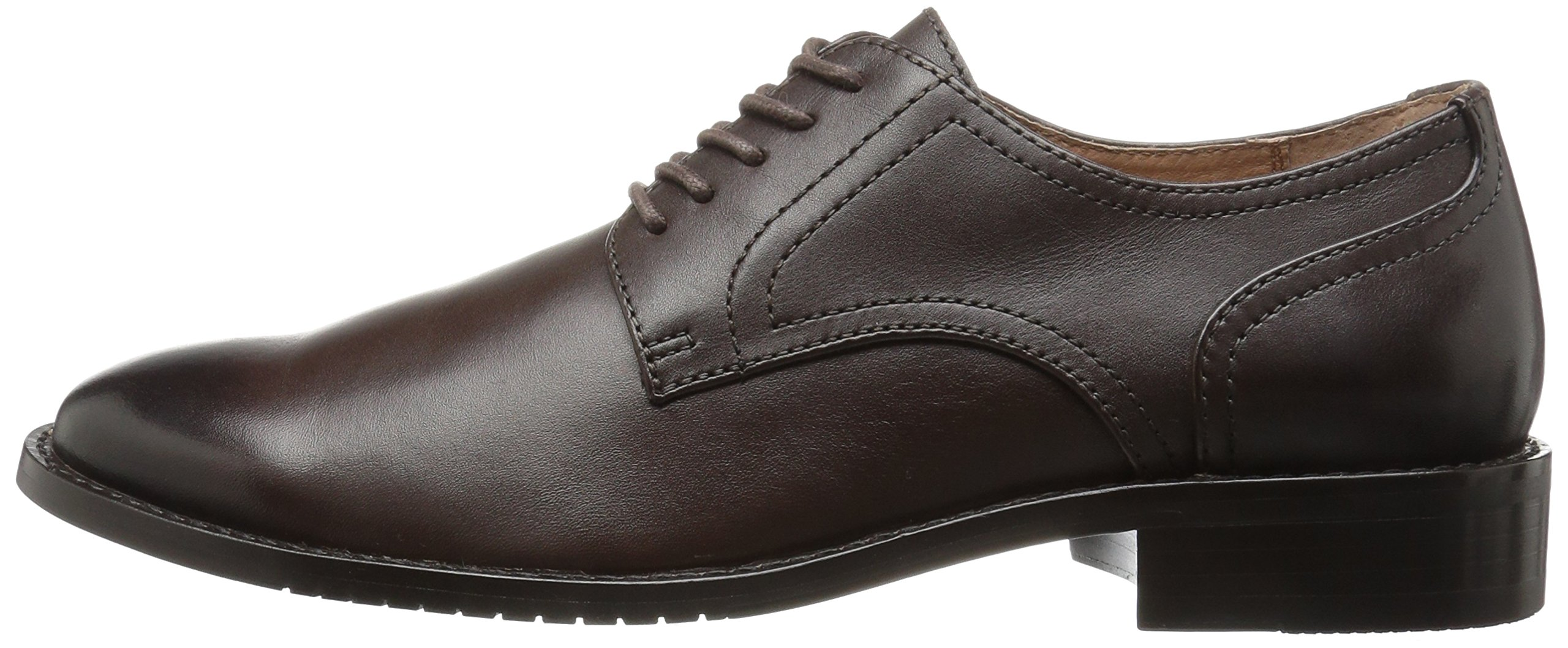 206 Collective Men's Concord Plain-Toe Oxford Shoe, Chocolate Brown, 11 D US by 206 Collective (Image #5)