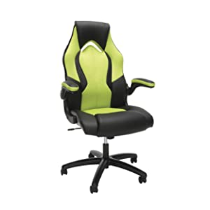 Essentials by OFM ESS-3086-GRN Gaming Chair, Green