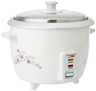 Prestige Delight PRWO 1.0-(400 watt)1-Litre Electric Rice Cooker