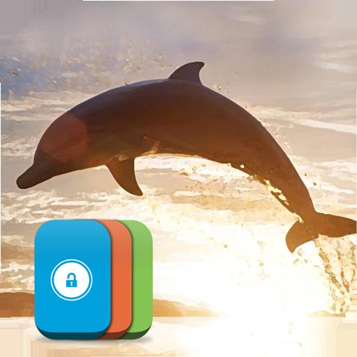 dolphin-lock-screen
