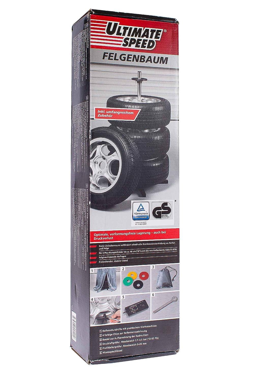 Ultimate® Speed Felgenbaum bis 225er Reifen inkl. umfangreiches Zubehör Kompernass 66309 / 94600