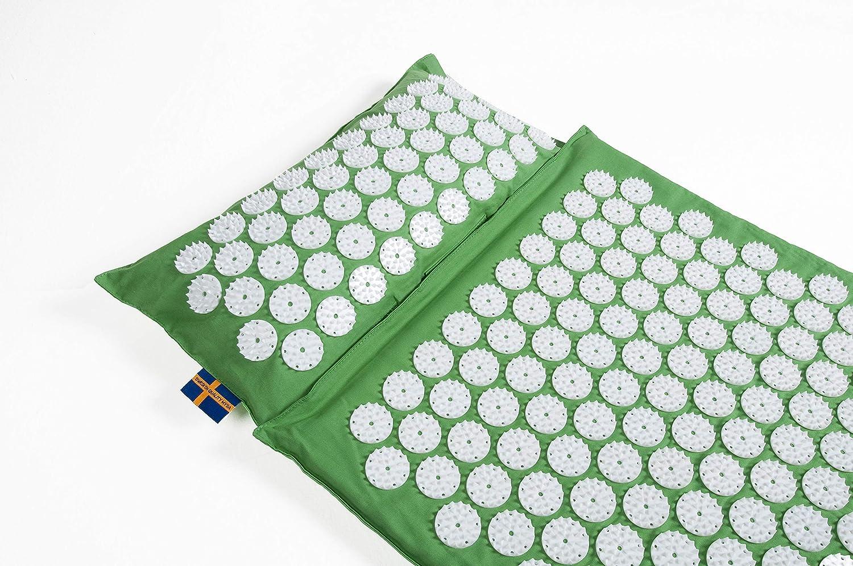 thermo mysa duo n 1 set tapis et coussin d acupression epeautre eco 100 chauffante rien caoutchouc l authentique tapis orellier le plus vendu
