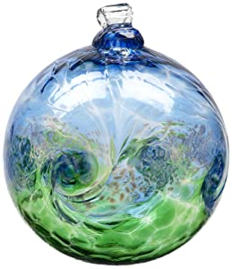 Kitras 6-Inch Van Glow Ball, Blue/Green