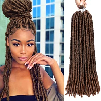 Amazoncom 6 Packs Faux Locs Hair Ombre Soft Dreadlocks Crochet