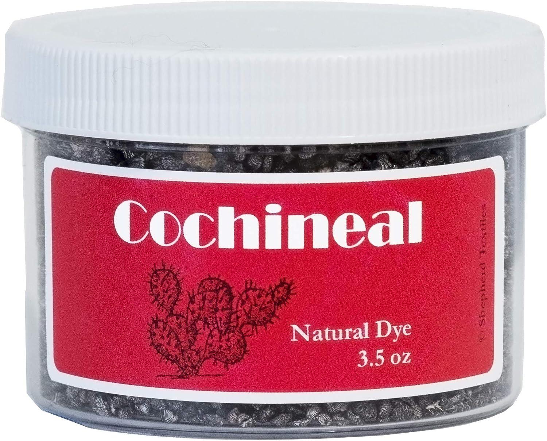 Shepherd Textiles Cochineal Natural Dye, 3.5 oz.