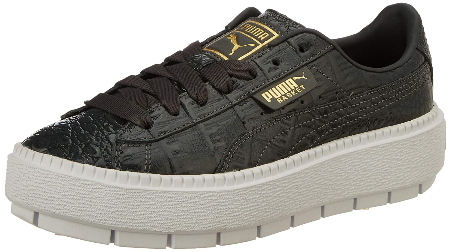 053105c3063d Puma Women s Platform Trace ExoticLuxWn s Sneakers  Buy Online at Low  Prices in India - Amazon.in