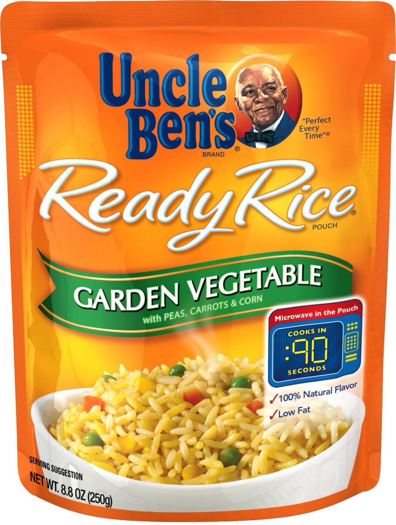 UNCLE BEN'S Ready Rice: Garden Vegetable, 8.8oz