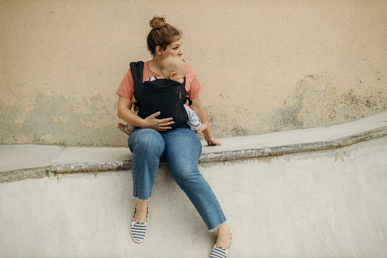 f/ür Babies ab 3kg bis zu Kleinkindern bis 20kg Babytragetasche im Rucksack Stil Tragen Sie Ihr Kind auf dem Bauch wie auch auf dem R/ücken Boba Babytrage Classic 4Gs Bear Cub