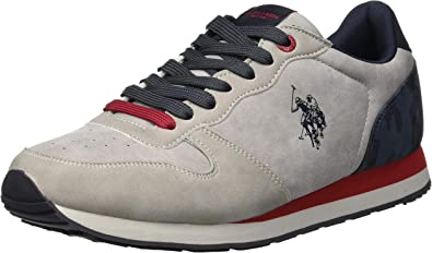 U.S.POLO ASSN. SHERIDAN2 Club, Zapatillas para Hombre, Gris (Light ...