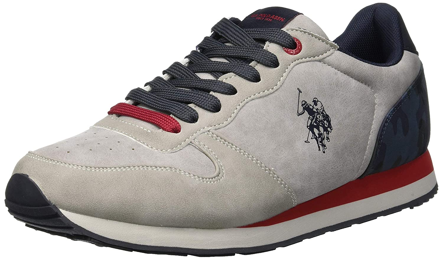 U.S. Polo Men Grey Sneakers