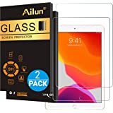 Ailun Screen Protector for iPad 7 (10.2-Inch, 2019 Model, 7th Generation) [2Pack] 2.5D Tempered Glass [Apple Pencil Compatible] Case Friendly