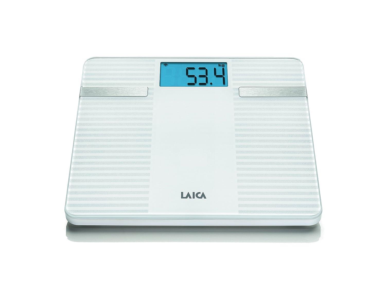 Laica PS7003 - Bascula composicion, color blanco: Amazon.es: Salud y cuidado personal