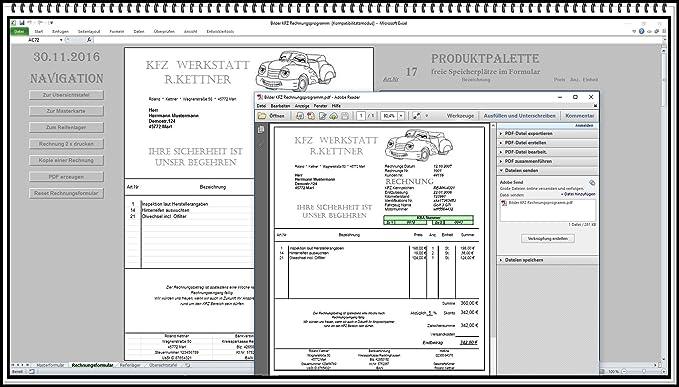 Rechnungsprogramm Kfz Werkstatt Mit Reifenlager Kundendatenbank