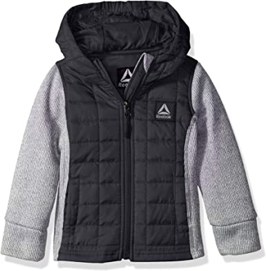 Reebok Girls Active Hooded Fleece Jacket