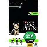 PURINA PRO PLAN Small & Mini Puppy avec OPTISTART Riche en Poulet - 3 KG - Croquettes pour chiots de petite taille