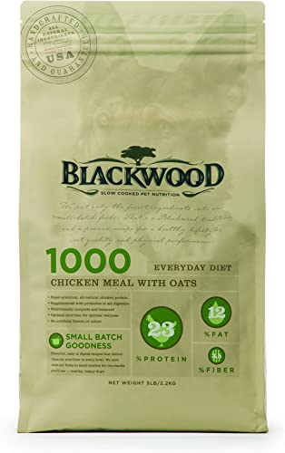 Blackwood Dog Food All Life Stages Made in USA Natural Dry Dog Food With Optimal Nutrition For All Breeds and Sizes