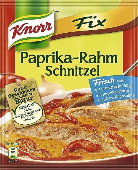 Knorr Fix salsa de Paprika en Crema Schnitzel 43 g