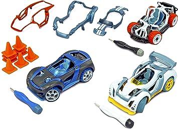 Modarri 3 Pack Toy Car Vehicle Set de Juguetes Thoughtfull Ultimate Car Toy para niños Incluye