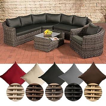 Set de muebles de polirratán CLP Costa Rica, sofá lounge + ...