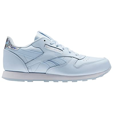 Reebok Classic Leather Pastel, Zapatillas de Running para Mujer, Azul/(Fresh Blue