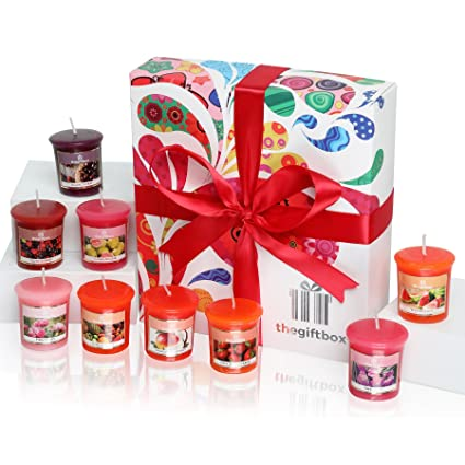 Scented Candles Gift Set 9 X Are Luxury Birthday