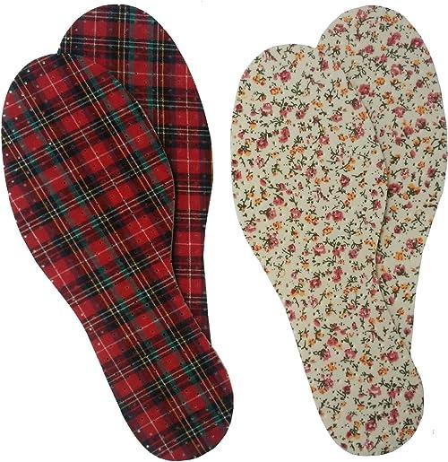 [アイ・フィット] 《靴の中までおしゃれに》デザインインソール4足分セット:女性用
