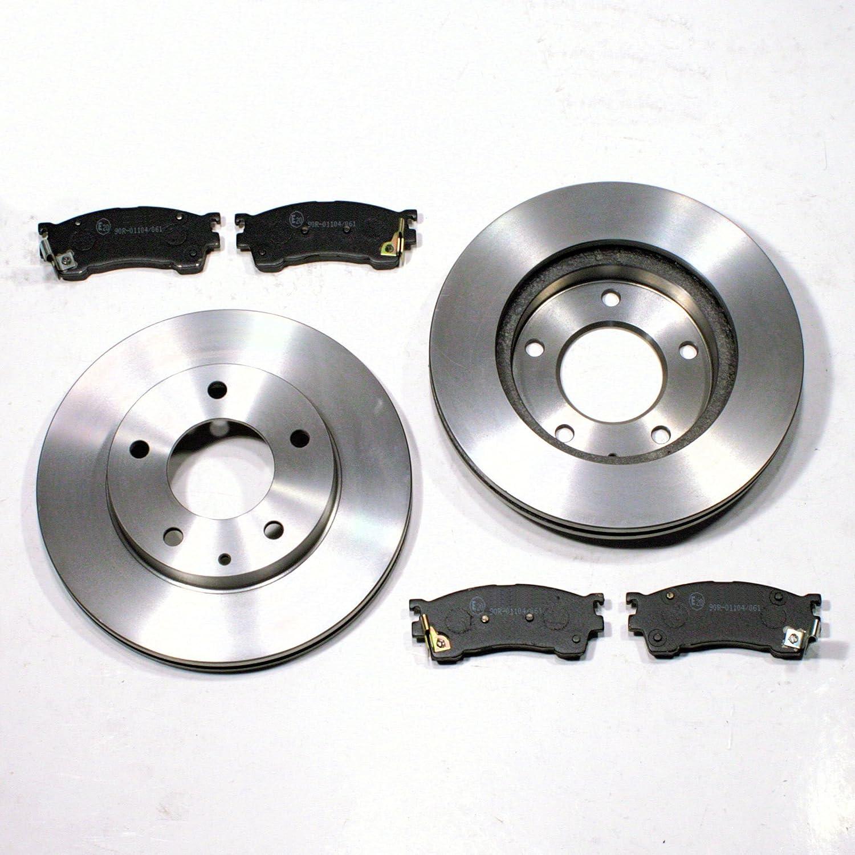Mazda 626 5 V Bremsscheiben Bremsen Bremsbeläge für vorne die Vorderachse