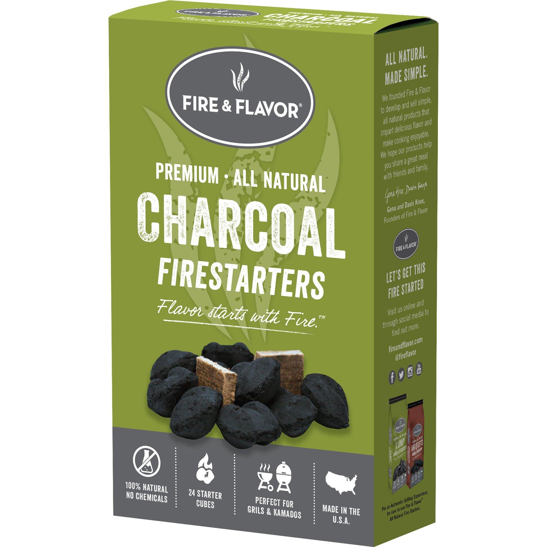 Fire & Flavor 24-Piece Fire Starters