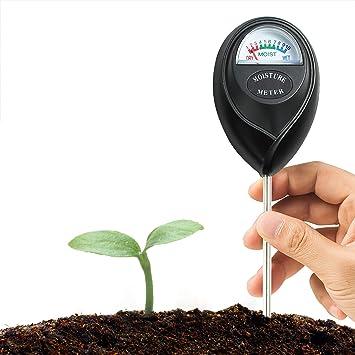 XLUX Medidor de Sensor de Humedad del Suelo Monitor de Agua del Suelo, hidrómetro para