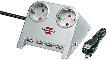 Brennenstuhl Desktop Power Plus Steckdosenleiste Amazon De Elektronik