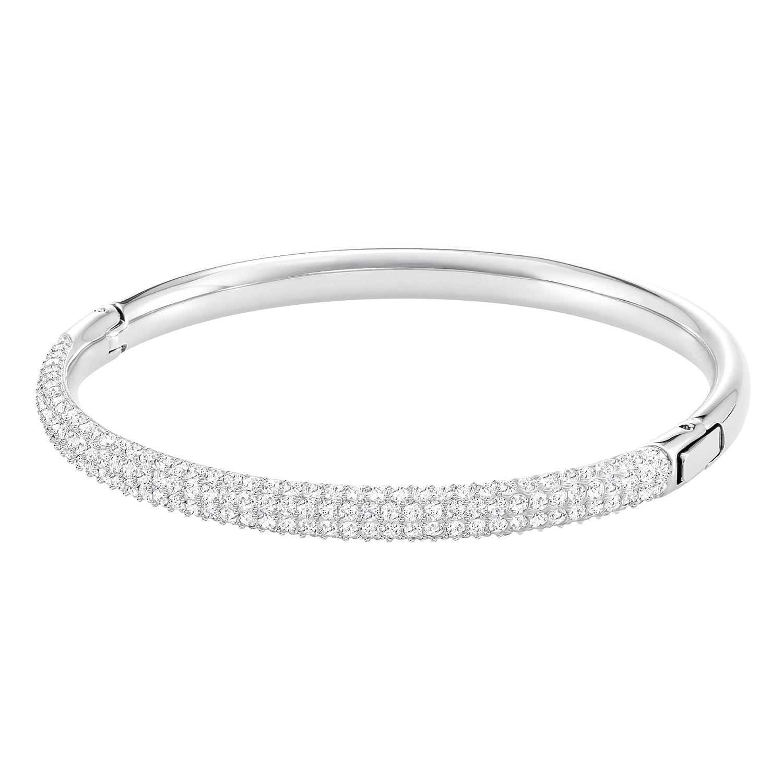 68bfd11fb Amazon.com: Swarovski Crystal Stone Mini Crystal Bangle: Jewelry