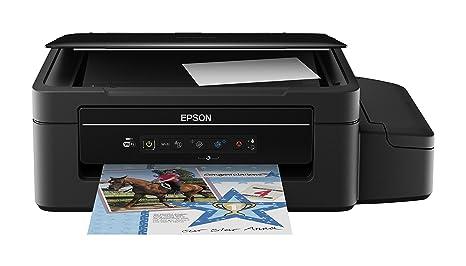 Epson EcoTank ET-2500 - Impresora multifunción, inyección de Tinta, Color Negro