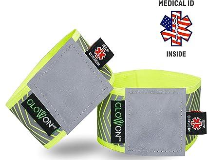 Amazon.com: Bandas reflectantes de identificación médica ...