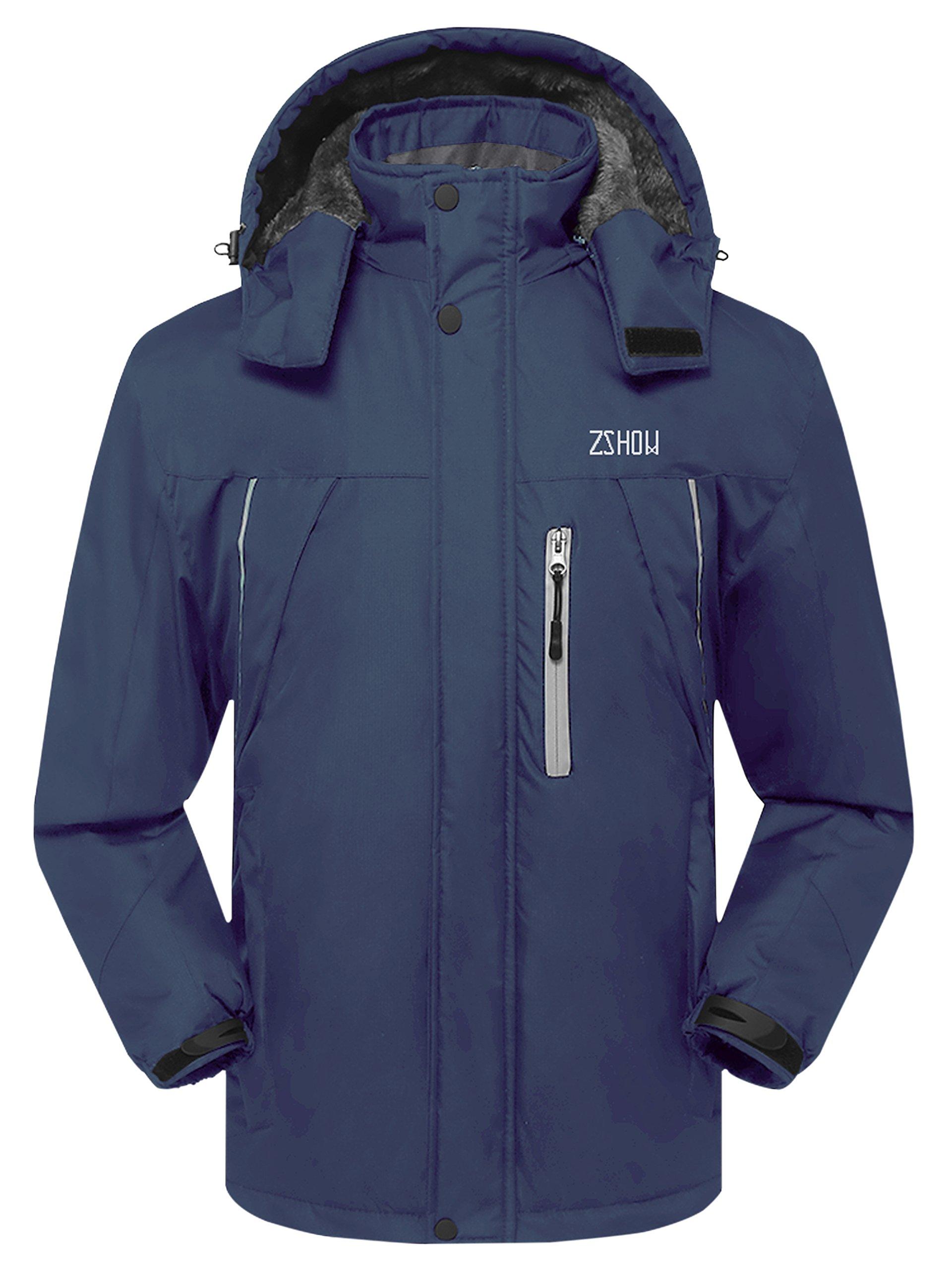 ZSHOW Men s Waterproof Ski Jacket Windproof Fleece Outdoor Insulated  Mountain Snow Rain Jacket product image f4cedc41e