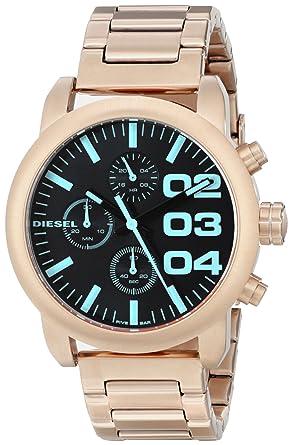 b1785d011 Amazon.com  Diesel Women s DZ5454 Flare Analog Display Analog Quartz Rose  Gold Watch  Watches