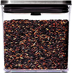 OXO Steel POP Container - 1.7 Qt for brown sugar, dried beans and more