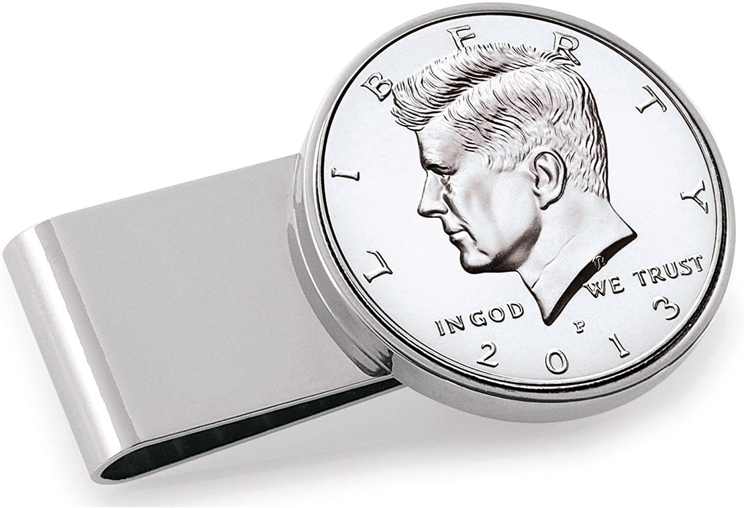 Proof JFK Half Dollar Coin Money Clip