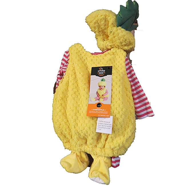 0d670608c Image Unavailable. Image not available for. Color: target Hyde & Eek  Pineapple Infant Costume 0-6 Months