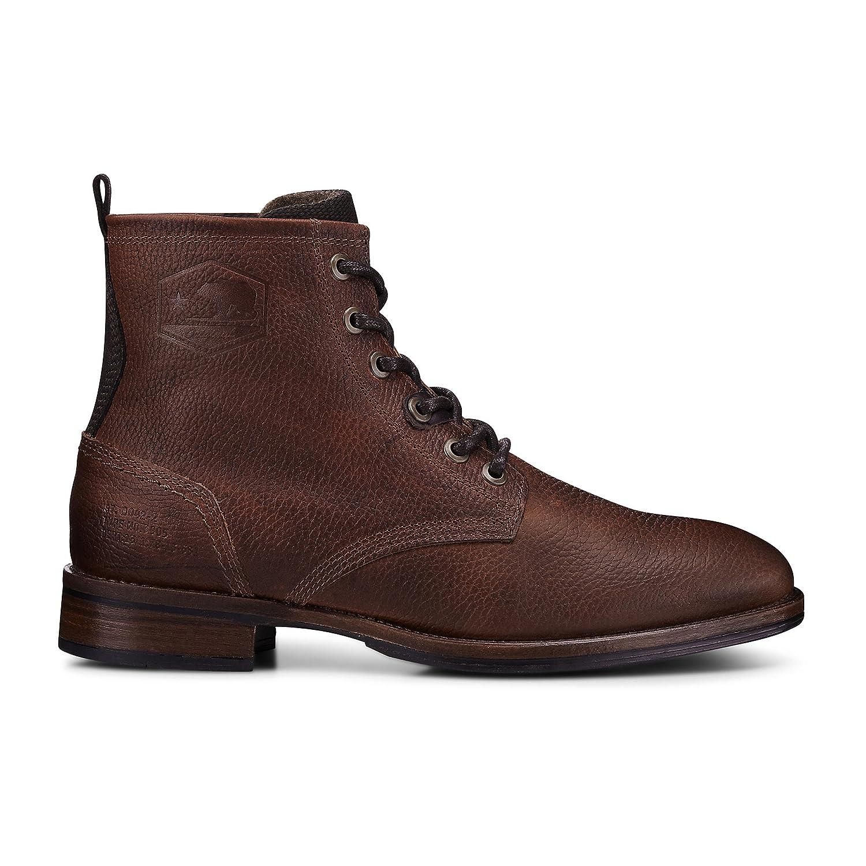 Cox Herren Schnür Boots Braun dunkel  Billig und erschwinglich Im Verkauf