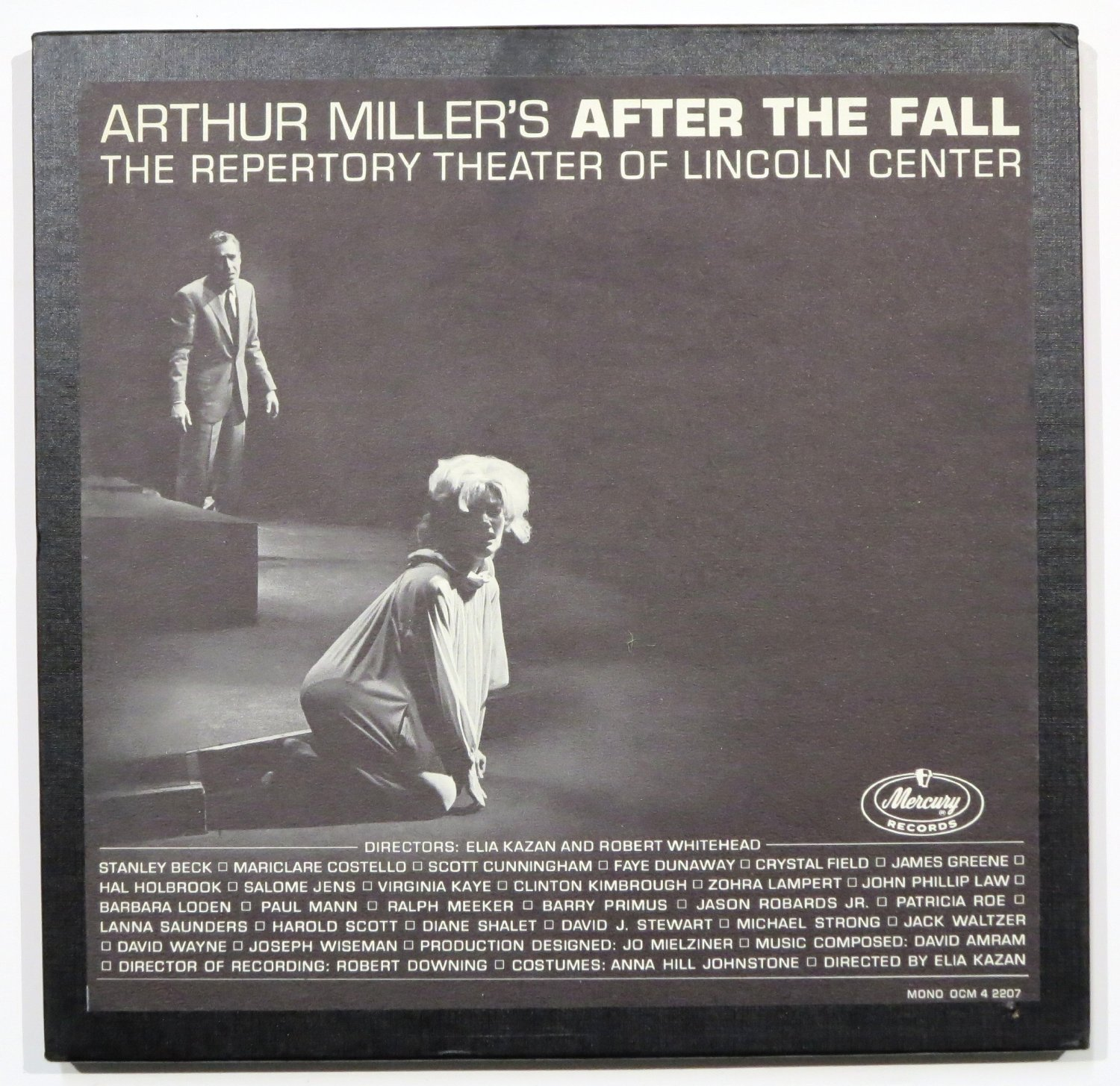 arthur miller elia kazan robert whitehead faye dunaway stanley stanley beck hal holbrook jason robards jr mariclare costello barbara loden crystal field arthur miller s after the fall the repertory theater