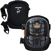 Ergodyne Proflex 347 Professional Knee Pads, Protective Long Cap, Lighweight Gel Padded Technology, Adjustable Straps…