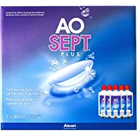 Aosept Plus Kontaklinsen-Pflegemittel, Sparpack, 5 x 360 ml