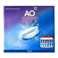 Aosept Plus Kontaklinsen-Pflegemittel, Sparpack, 5 x 360 ml