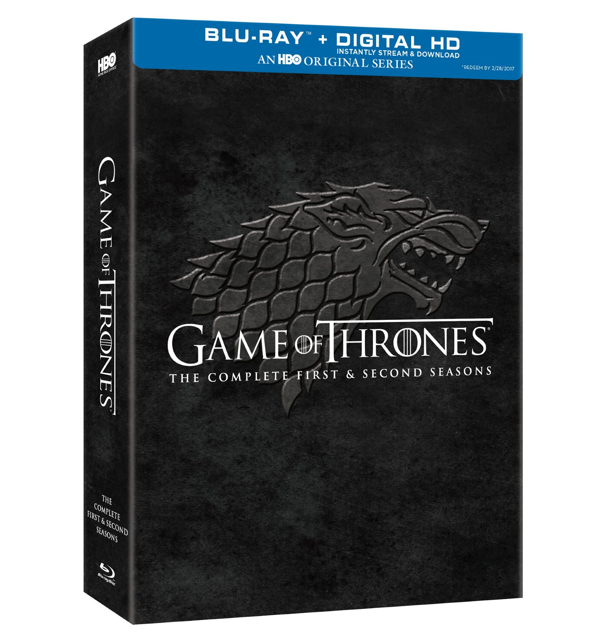 Game of Thrones: Complete First & Second Season [Blu-ray]