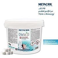 Metacril Cloro Piscina Multiacción en Pastillas de 20