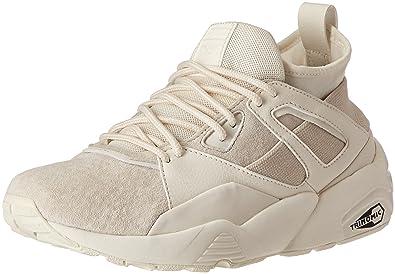 newest f2ddd e4faa Amazon.com: PUMA BOG Sock Core Women US 10.5 White Sneakers ...