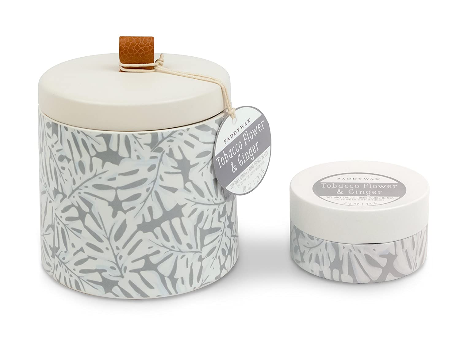 Amazon.com: Paddywax Botany Collection Scented Soy Wax Candle, 10 ...
