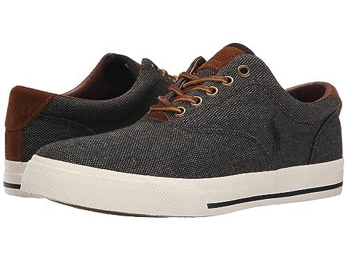 7678c415da453c Ralph Lauren Vaughn-NE shoes - Black (UK 6   US 7   EU 40)  Amazon ...