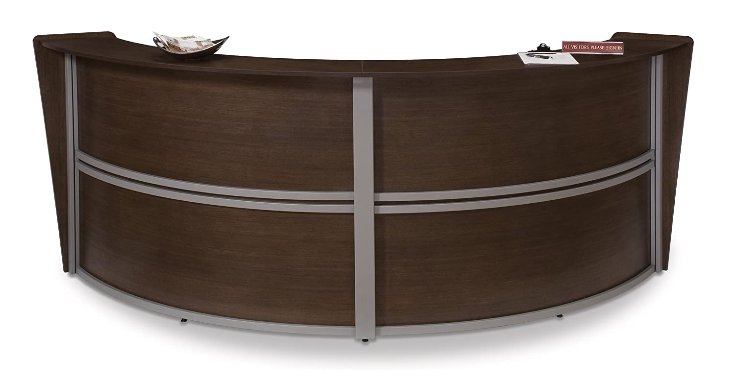 OFM Marque Series Double Unit Curved Reception Station, Cherry: Television  Stands: Amazon.com: Industrial U0026 Scientific