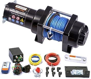Powerseries® 12V Elektrische Seilwinde 3000 ADVANCE   Zugkraft ...